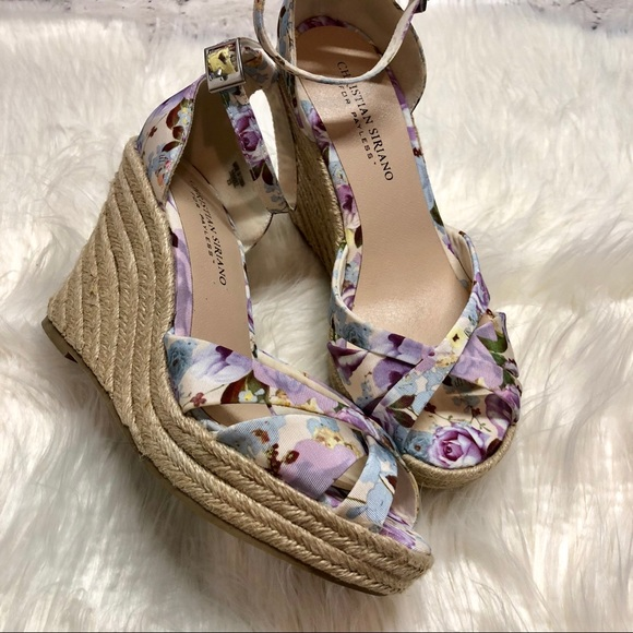 d95b06fea2e Christian Siriano for Payless Shoes - Christian Siriano Floral wedge sandal  lavender
